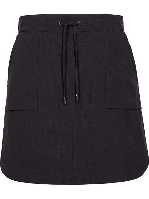 Alchemy W's Patch Pocket Short Skirt Black